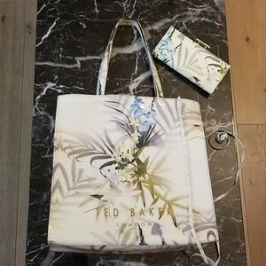 Ted Baker Tote and Matching Wallet
